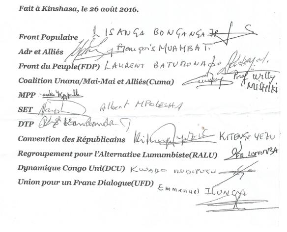 signature comm allies de tshisekedi 260816